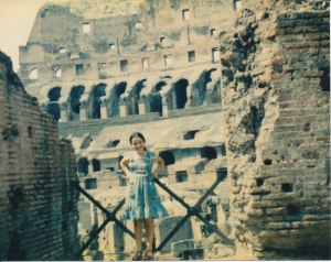 11 year old me on my first visit to Roma!