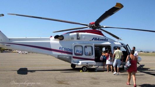 Alidaunia flies from Foggia to San Domino daily