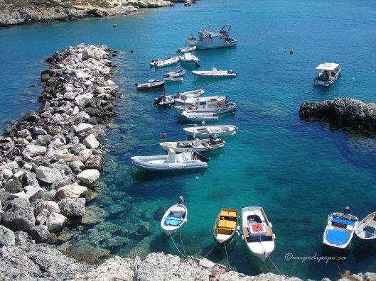 The small port, San Domino