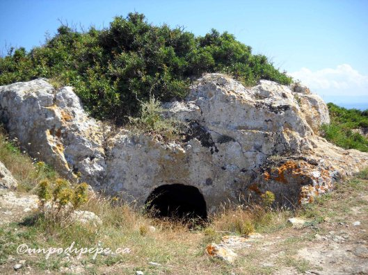 La tomba di Diomede on San Nicola.