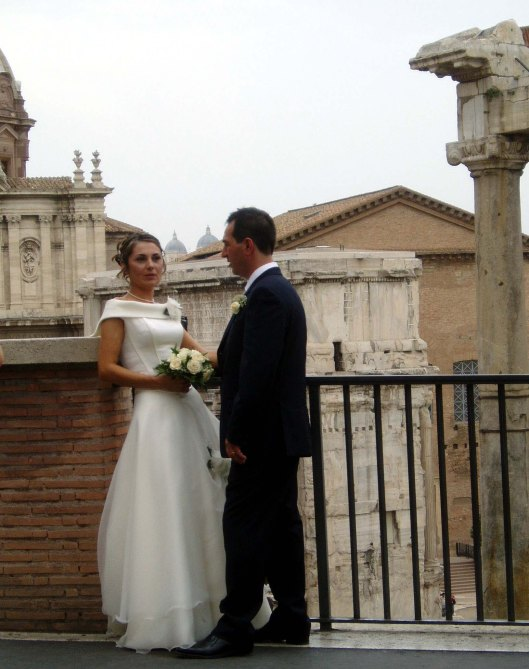 Old meets new at the Foro Romano