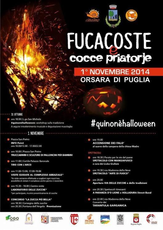2014 poster for Fucacoste e cocce priatorje