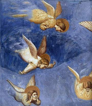 A small section of Giotto's Cappella degli Scrovegni