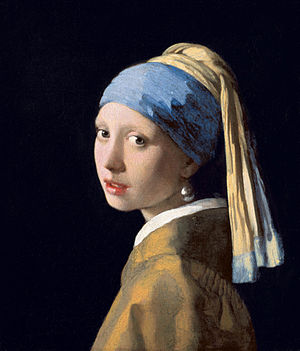 Girl with a Pearl Earring (1665) by Johannes Vermeer