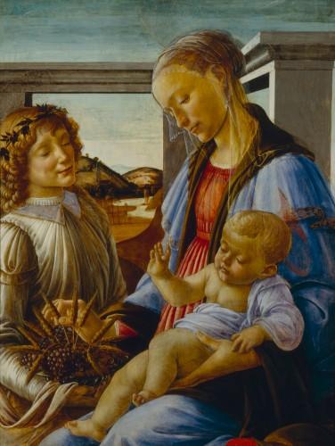 La Madonna dell' Eucaristia (1470) by Sandro Botticelli