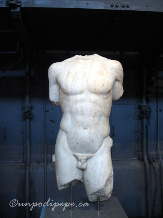 Centrale Montemartini WarriorTorso