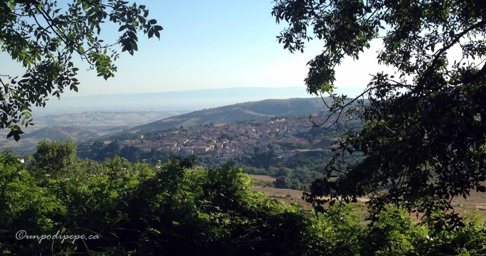 View of Orsara di Puglia