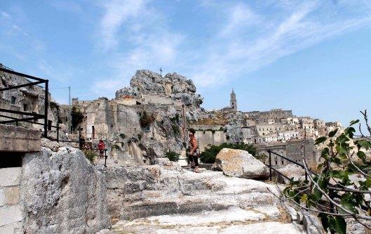 Exploring Matera.  Photo by D Goodheart