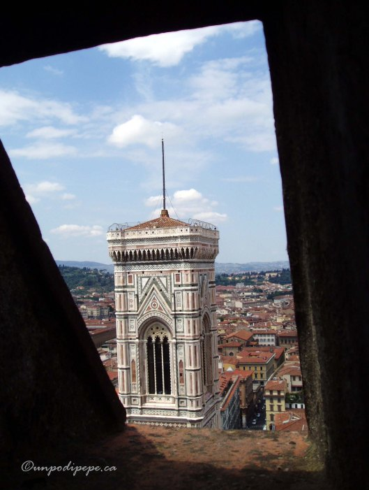 La Torre di Giotto vista dal Duomo