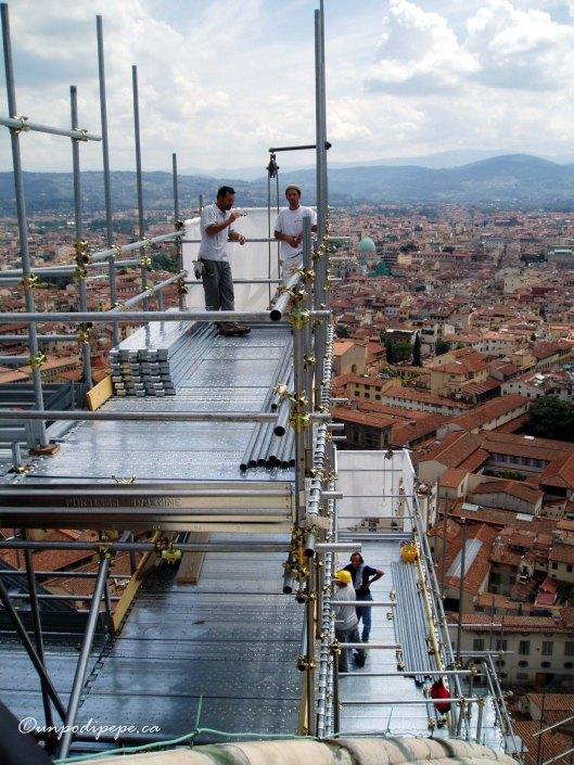 'Santa Maria sotto restauro'