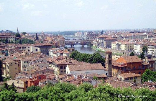 Vista da Piazzale Michelangelo