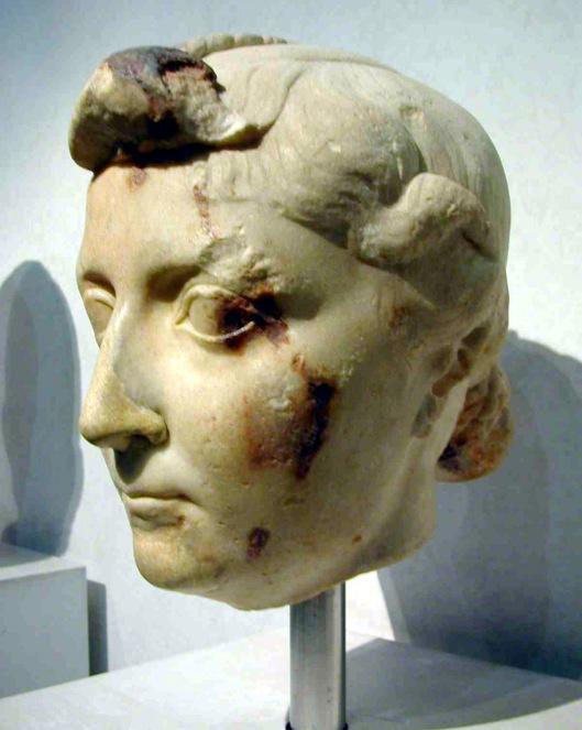 Bust of Livia, Palazzo Massimo