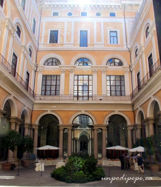 Central Courtyard, Palazzo Massimo