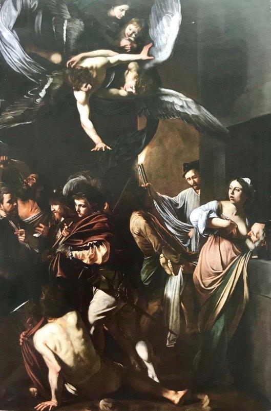 Caravaggio Sette opere di misericordia Pio Monte della misericordia