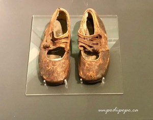 Maritime Museum of the Atlantic. Shoes