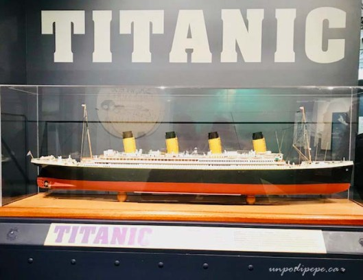 Titanic: the unsinkable ship exhibit Maritime Museum of the Atlantic Halifax