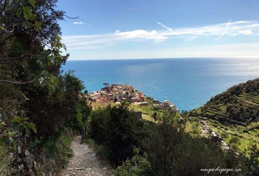 Corniglia, Cinque Terre, dal Sentiero Rosso