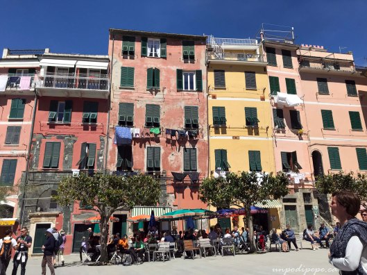 Vernazza Piazza Marconi, Cinque Terre Liguria