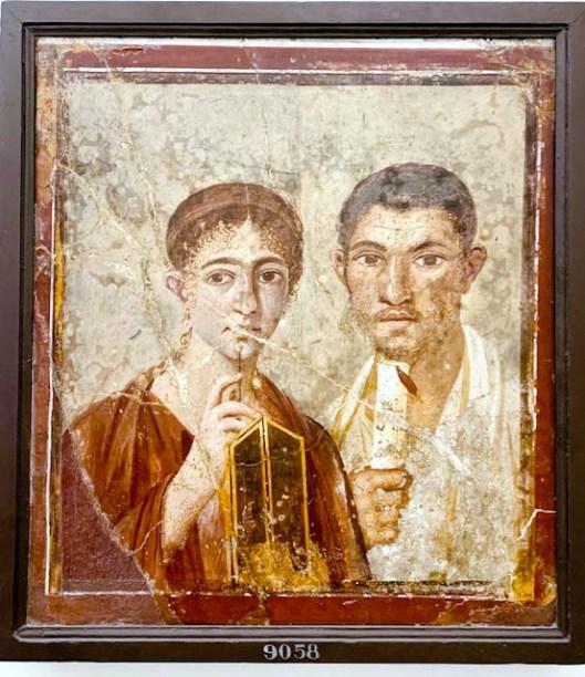 Terentius Neo e la moglie Pompeii