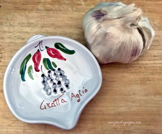 Gratta aglio