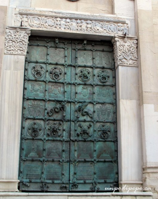 Troia Cathedral bronze doors