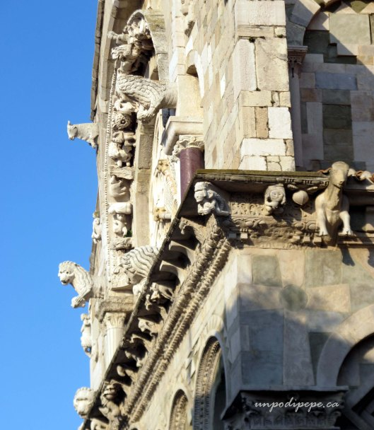 Side view, Troia Cathedral, Puglia