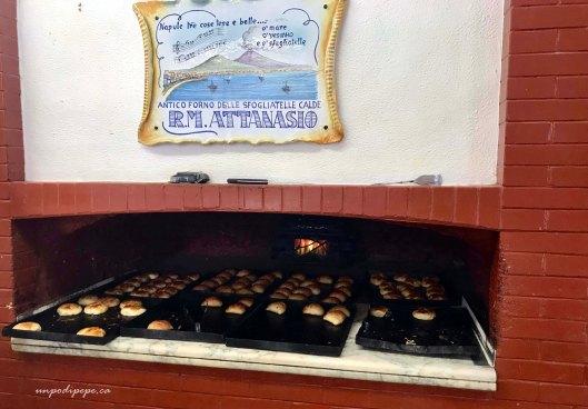 Antico forno Attanasio sfogliatelle