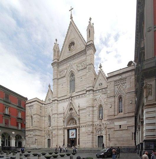 Facciata Duomo di Napoli