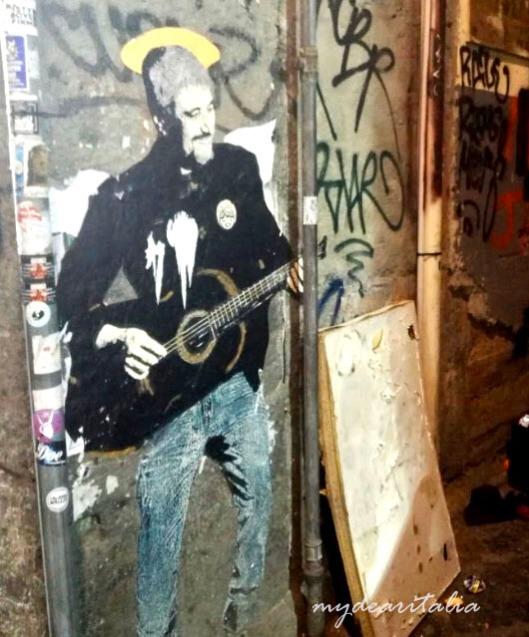 San Pio Daniele TvBoy Street Art
