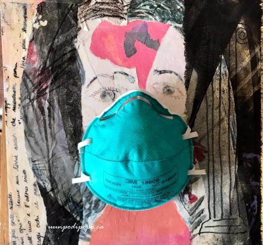 Autoritratto con mascherina