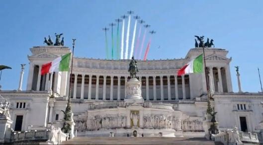 Frecce Tricolori Festa della Liberazione 25 Aprile