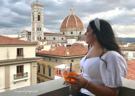 Isabella Aperol Spritz Duomo Firenze