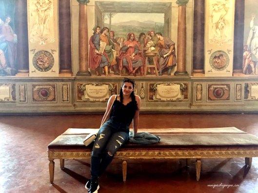 Palazzo Pitti Firenze interior