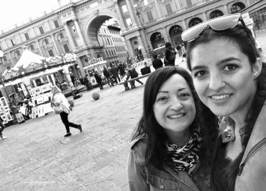 Piazza della Repubblica selfie