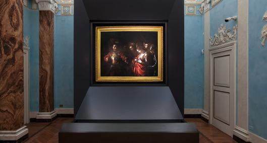 Martirio di Sant'Orsola by Caravaggio in Palazzo Zevallos Stigliano