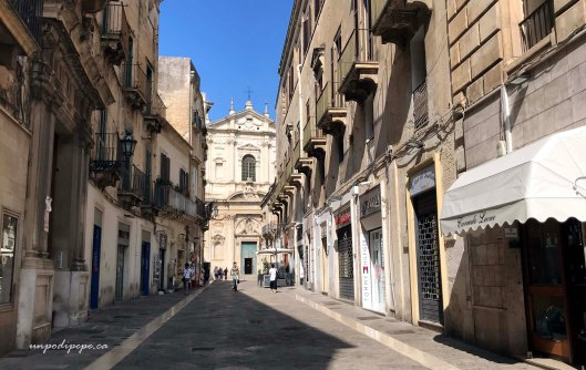 Corso Vittorio Emanuele e Sant'Irene Lecce