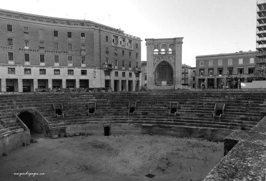 Anfiteatro and Il Sedile, Lecce, Puglia
