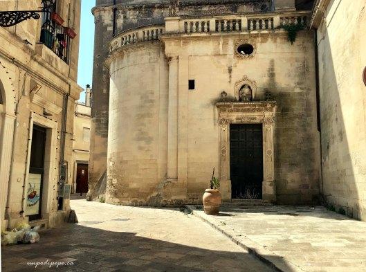 Vicolo, Lecce