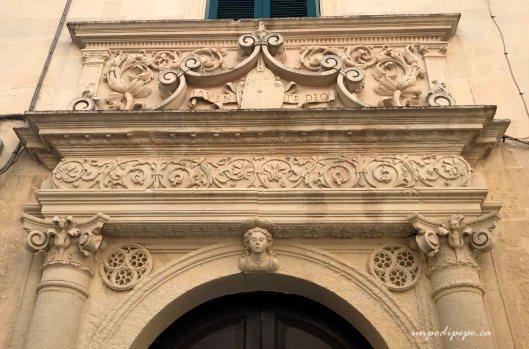 Baroque doorway Lecce