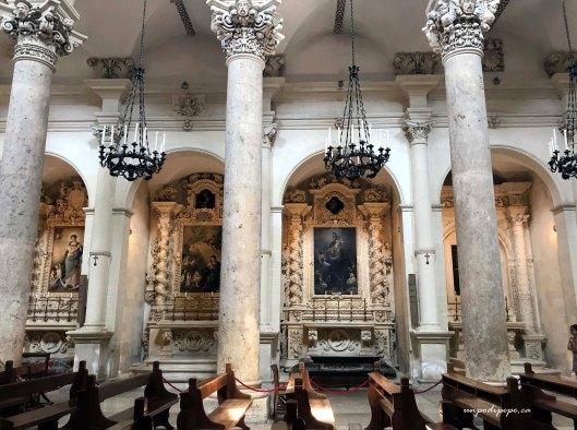 Santa Croce interior Lecce