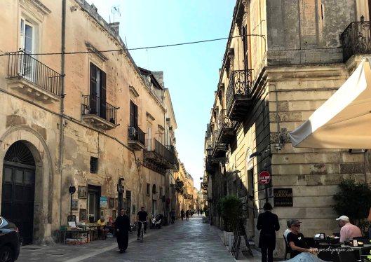 Via Palmieri Lecce Puglia