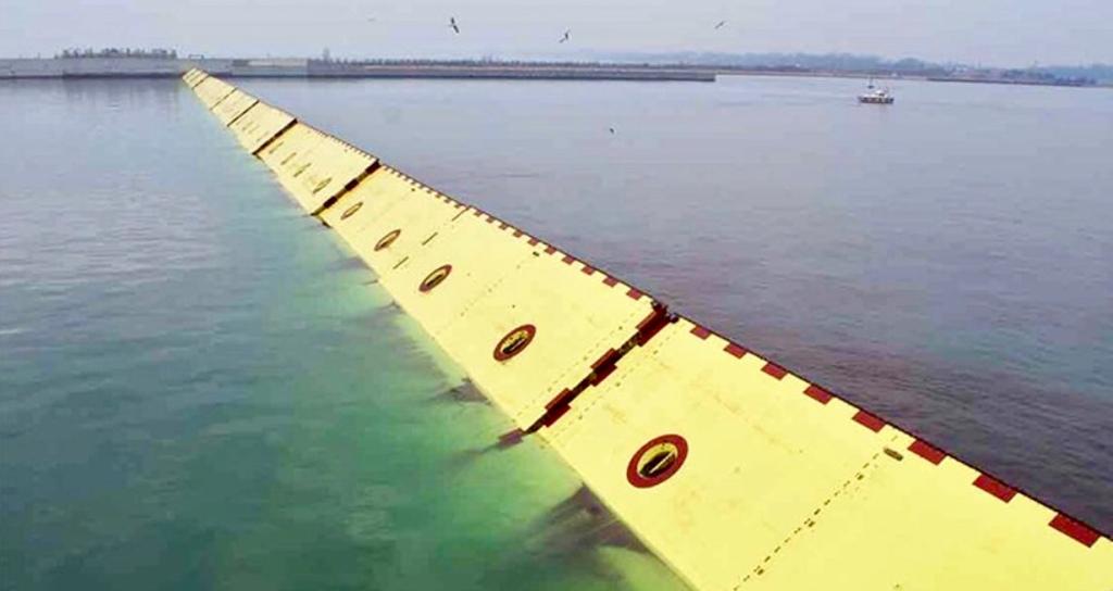 MOSE flood barrier Venezia