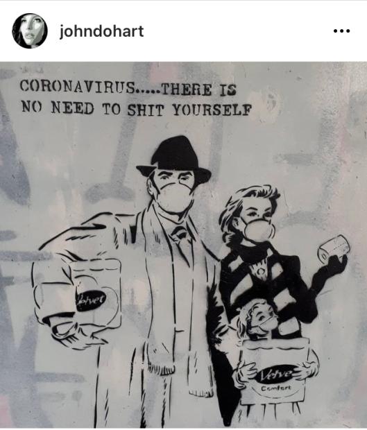 John Doh street art