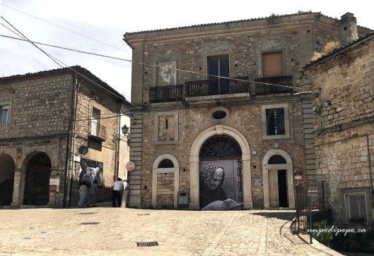 Largo San Michele Orsara di Puglia