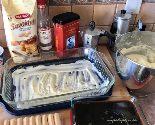 Tiramisu' in progress